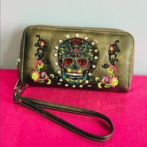 Skull wallet